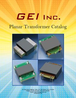 GEI Planar Transformer Catalog