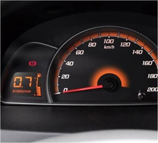ESTN LCD as an automotive dashboard application