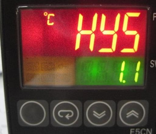 ESTN LCD in an industrial equipment application